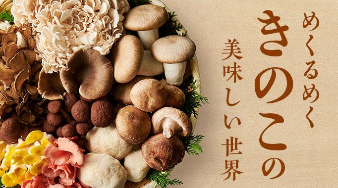 きのこ,キノコ,椎茸に関連する特集