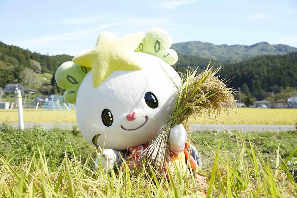 岩手県陸前高田市のマスコットキャラクター「たかたのゆめちゃん」