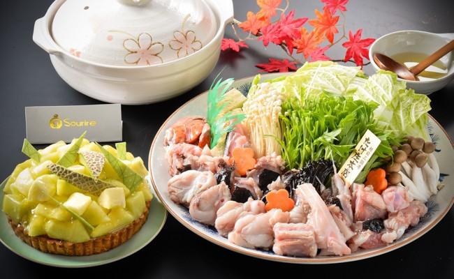 9月 越前あんこう鍋(野菜付4~5人前)&越前甘海老(約1㎏)