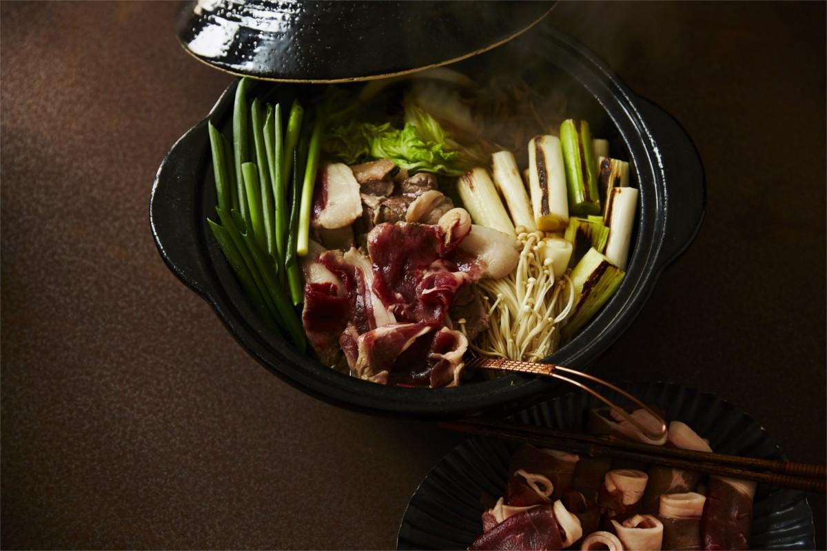 定番の「牡丹鍋」