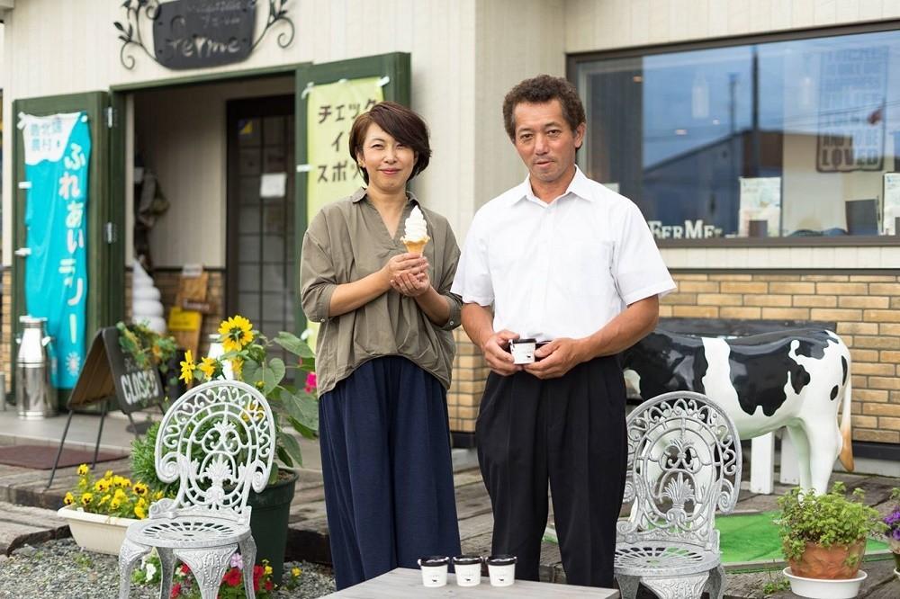 MilkCafe&Zakka ferme(フェルム) 白田さんご夫婦