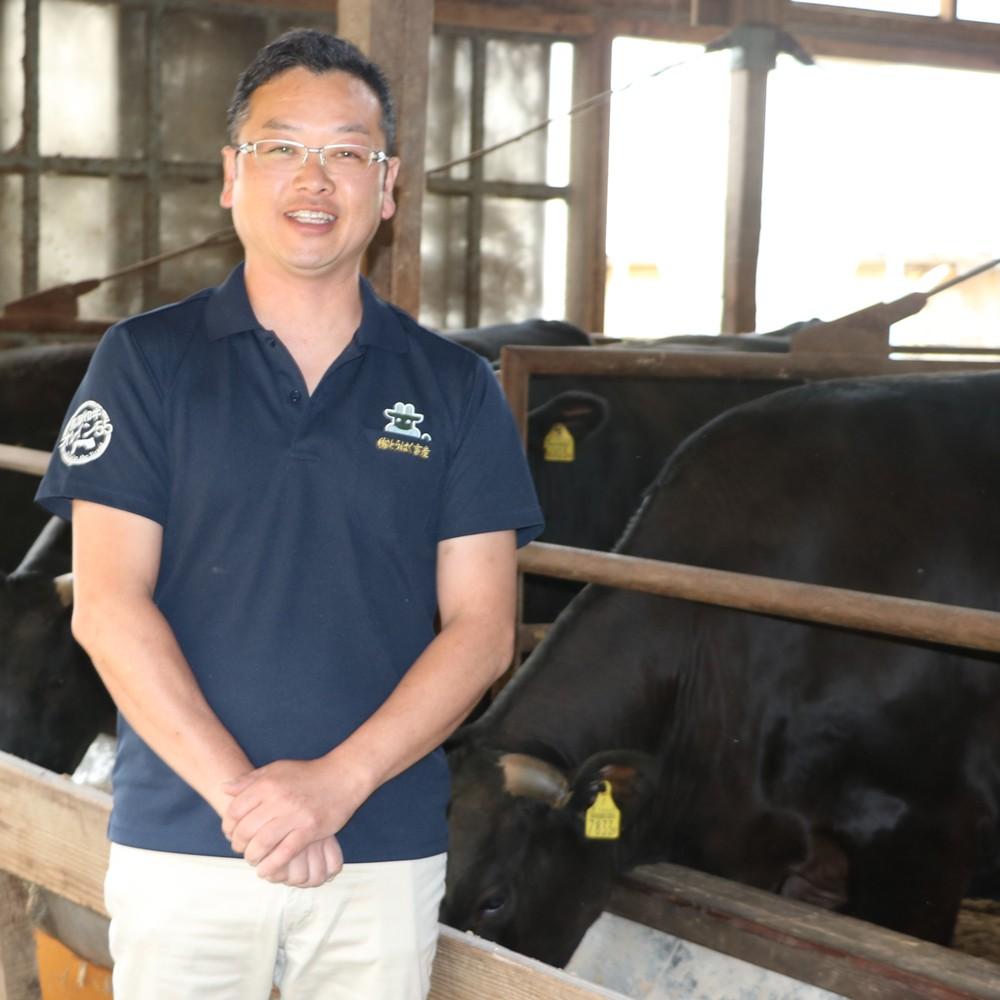 有限会社とうはく畜産 代表取締役社長 山本 毅さん