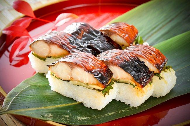 照焼き鯖寿司