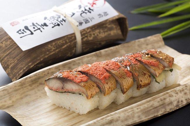 焼き鯖めんたい寿司