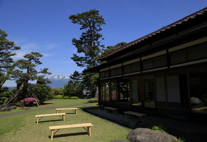 和館と庭園