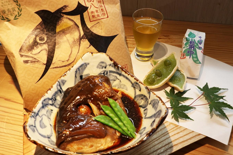 A1-0101/垂水市海潟名物 カンパチびんた煮&銘菓キヌサヤ最中