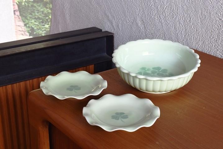 花形鉢と銘々皿