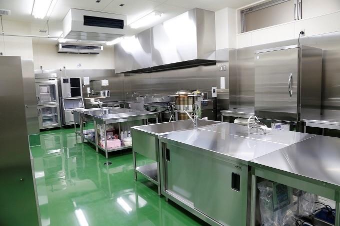 衛生管理を徹底した工場内部
