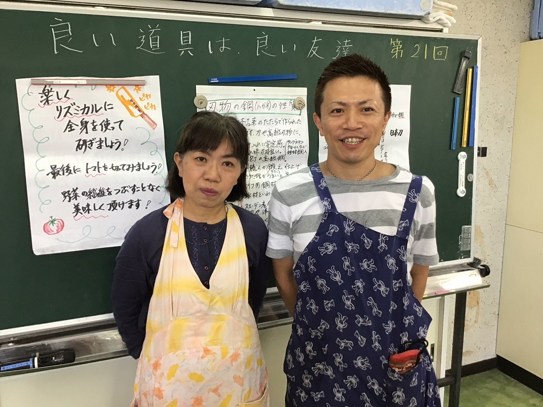 明美さんと三代目の輝樹さん