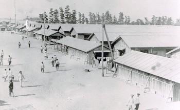 3500人の高石村に28000人の捕虜がきた