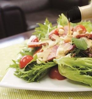 シーザードレッシング+サラダ