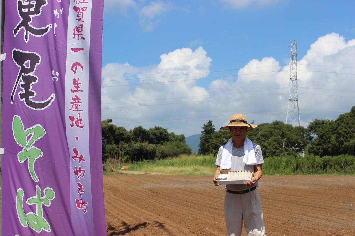 実は、みやき町東尾蕎麦は「佐賀県1番の蕎麦生産地」なんです!