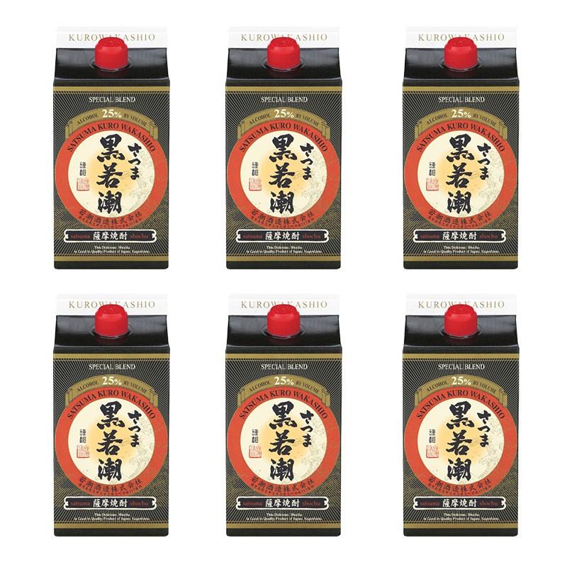 B2-2527/さつま黒若潮 900エコパック 6本セット