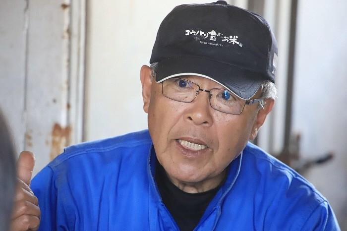 村上さんが語る「コウノトリ育む農法」