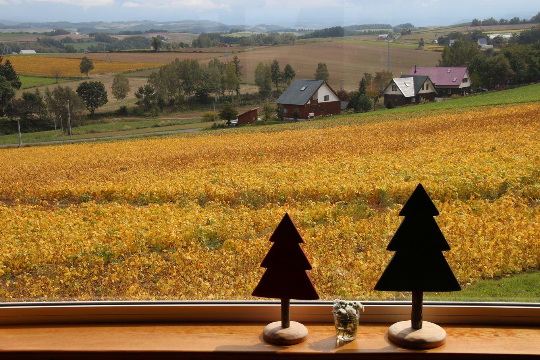 平成30年9月27日の貴妃花の窓から見える景色です。秋びえい。
