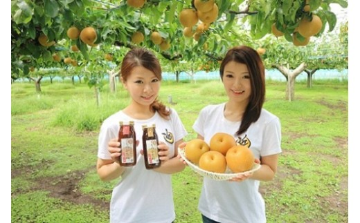 女子力高めの梨農家姉妹がおくる! 梨の万能たれ「ものがたれ。」