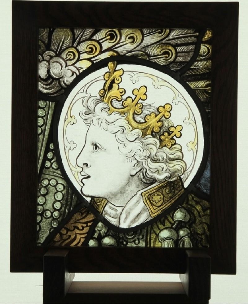 ステンドグラス「祝福の天使C」