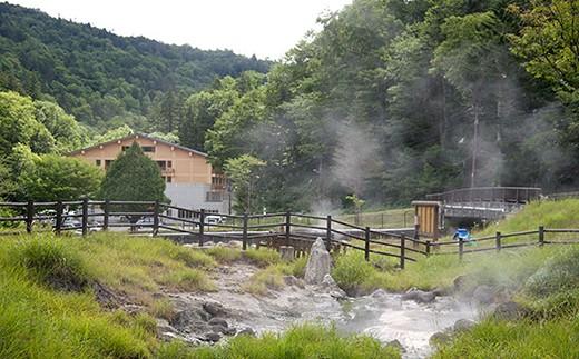 ■トムラウシ温泉噴泉塔
