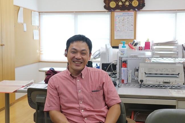 代表取締役の仲川龍一さん