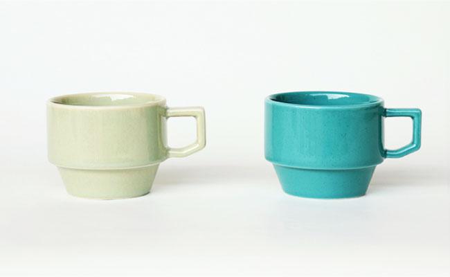 かわいい色のマグカップ!