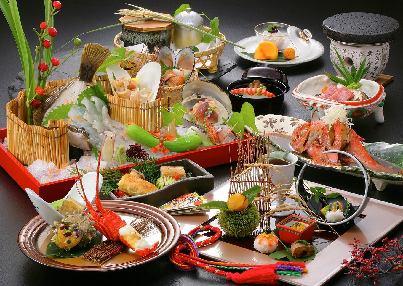 かわな名物・江戸前簀立て盛り会席料理 ※画像はイメージ