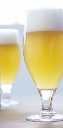 定番の「小麦のビール」