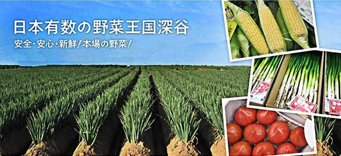 """日本有数の野菜王国""""深谷""""  安全安心新鮮!本場の野菜!!"""