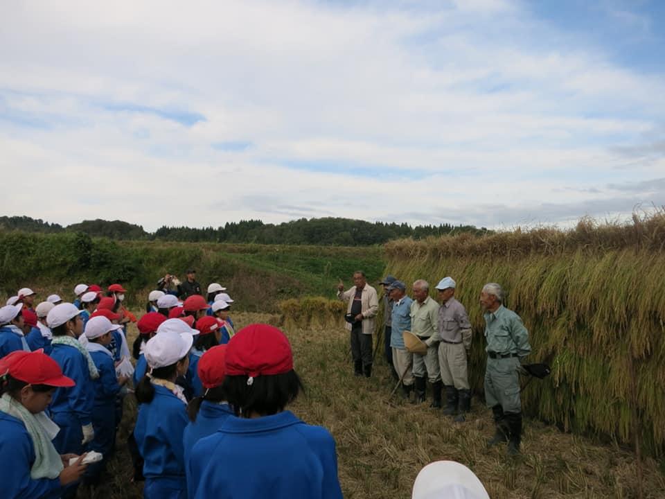 子どもたちに農業の面白さを伝えていきます。