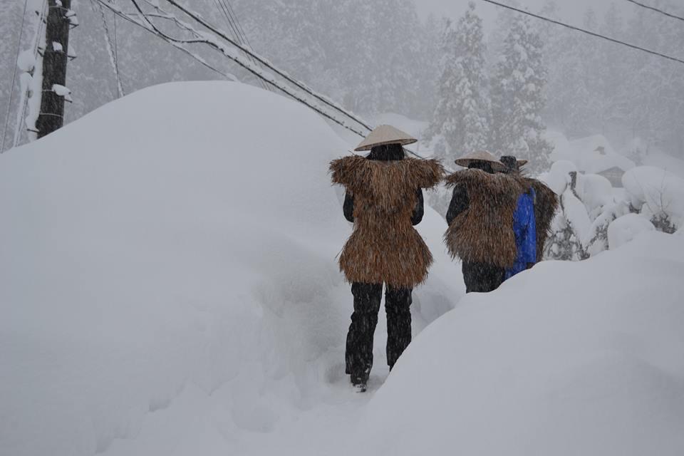 日本有数の豪雪地で私たちは暮らしています。