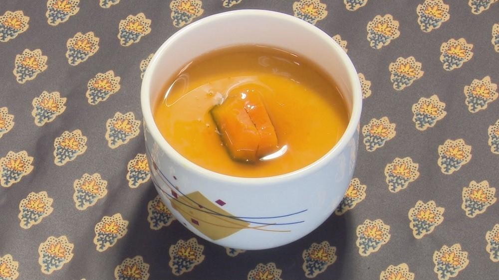 かぼちゃのあんかけ茶碗むし〈2人分〉