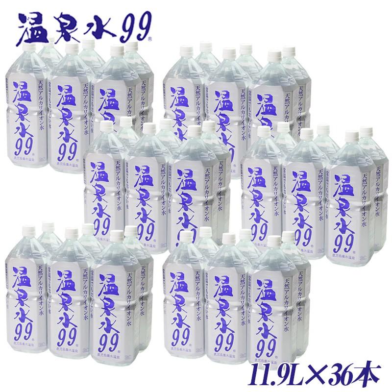C3-0809/飲む温泉水/温泉水99(1.9L×36本)