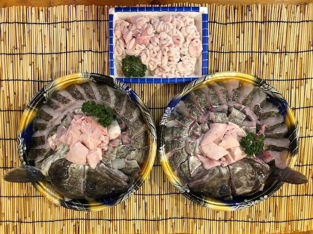 1月 真ダラ(白子付き) 鍋用カット