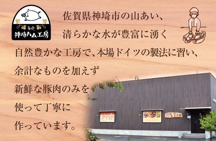 梅の花「神埼ハム工房」