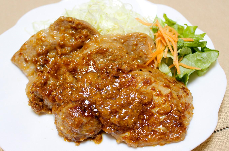 豚肉の和風味噌漬け焼き