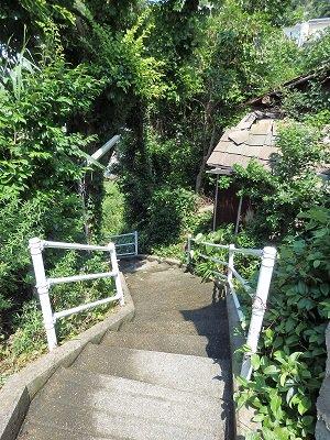 階段や坂が主な移動経路です。迷路のようです。