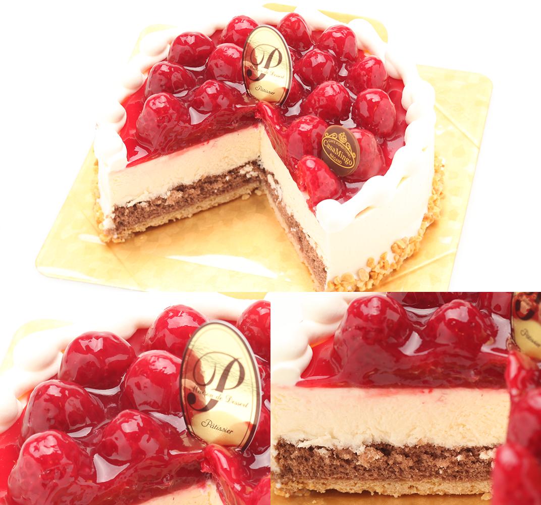 【パティシエおすすめ】シュス木苺レアチーズケーキ