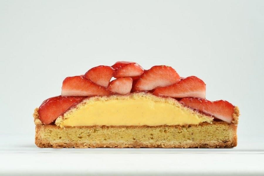 [お取り寄せ(楽天)] 山盛りイチゴタルト サンクドノア  タルトケーキ 価格3,600円 (税込)