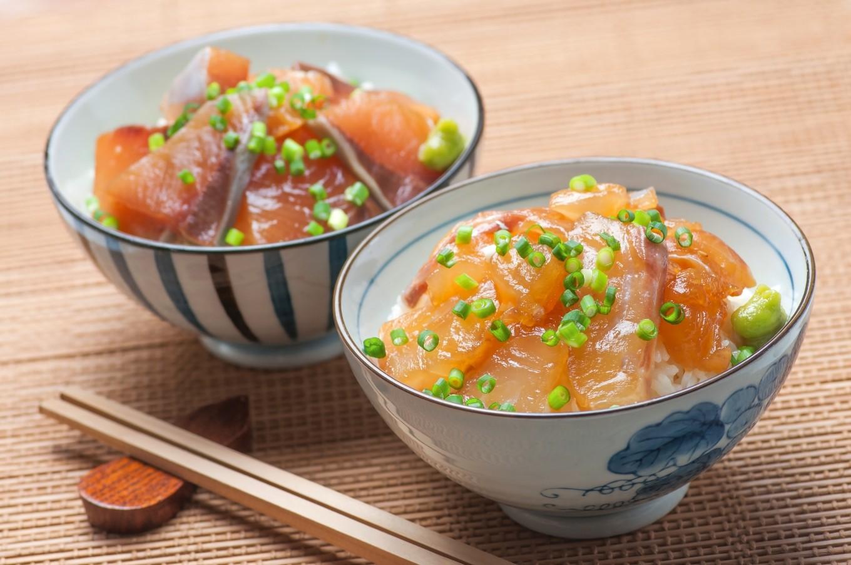 真鯛とぶりの「りゅうきゅう」を使用した海鮮漬丼 ※イメージ