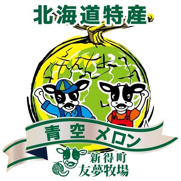【新得町 友夢牧場】青空メロン!