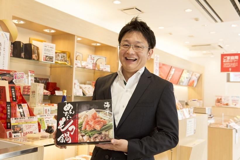 株式会社海千代表取締役の井川さん
