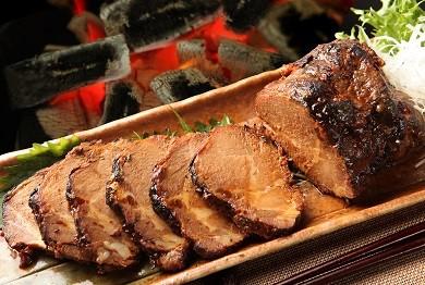 お肉屋さんが作る特製『炭火焼豚』セット