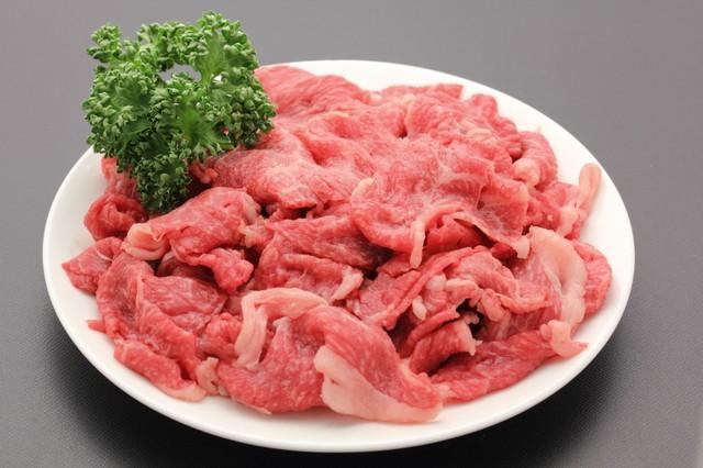 甲州ワインビーフ熟成肉切落し