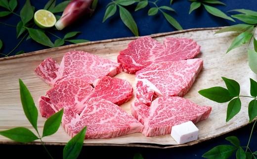この美しい霜降り。まさしく肉の芸術品!