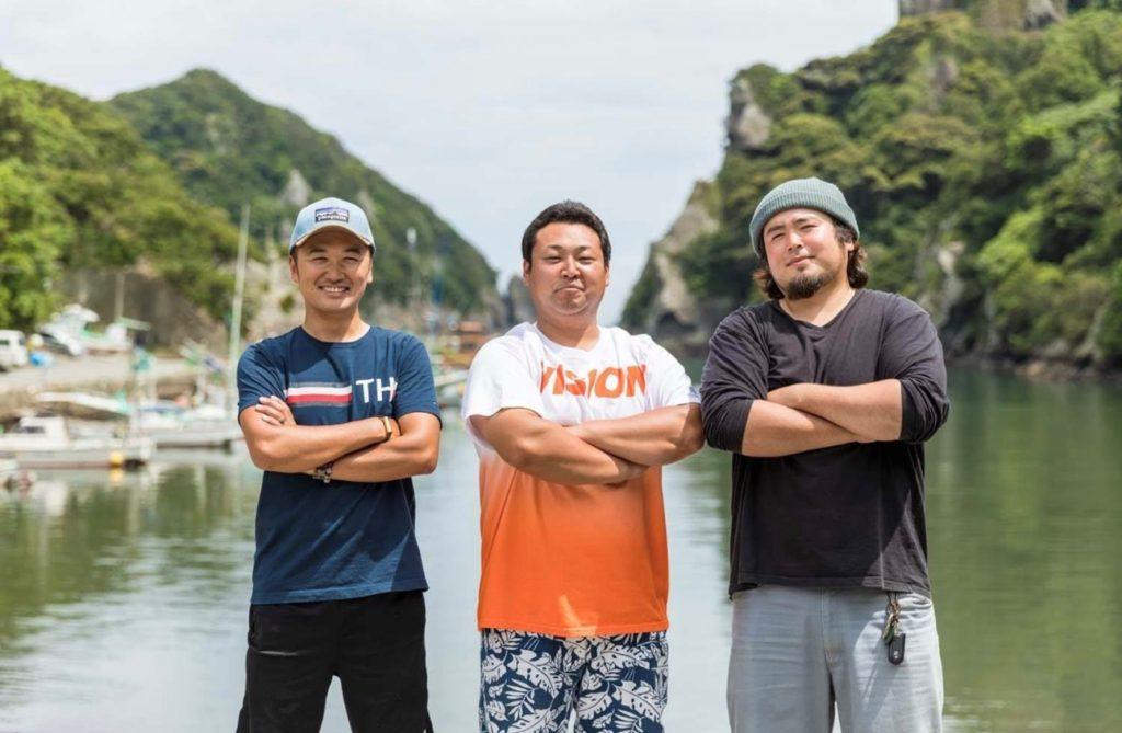 南崎漁師倶楽部 南伊豆町の若手漁師が集まり活動しています。