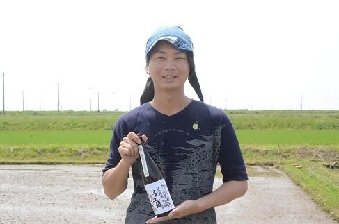 高浜の地酒づくりを企画した坂本さん