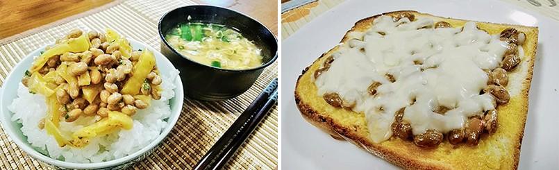 ごはんやパンにのせて、主食に。
