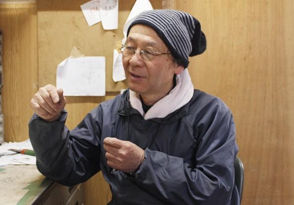 三輪唯夫さん。昭和24年生まれ。農業大学校を卒業後、養鶏の仕事に就く