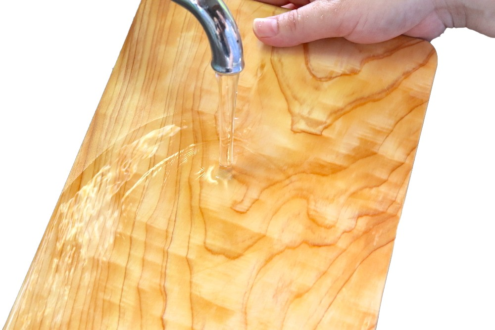 木製のまな板を使う際のお願いです。