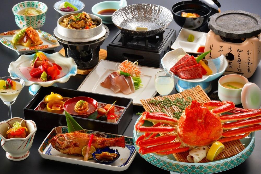 日本海の魚介類をたっぷり味わえる。(写真はイメージです)
