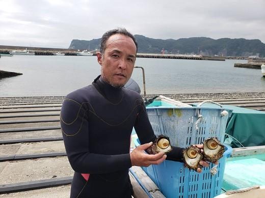 アサダ水産の浅田さん。